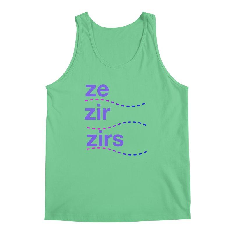 TCH ze zir swag Men's Regular Tank by Transchance Health's Artist Shop