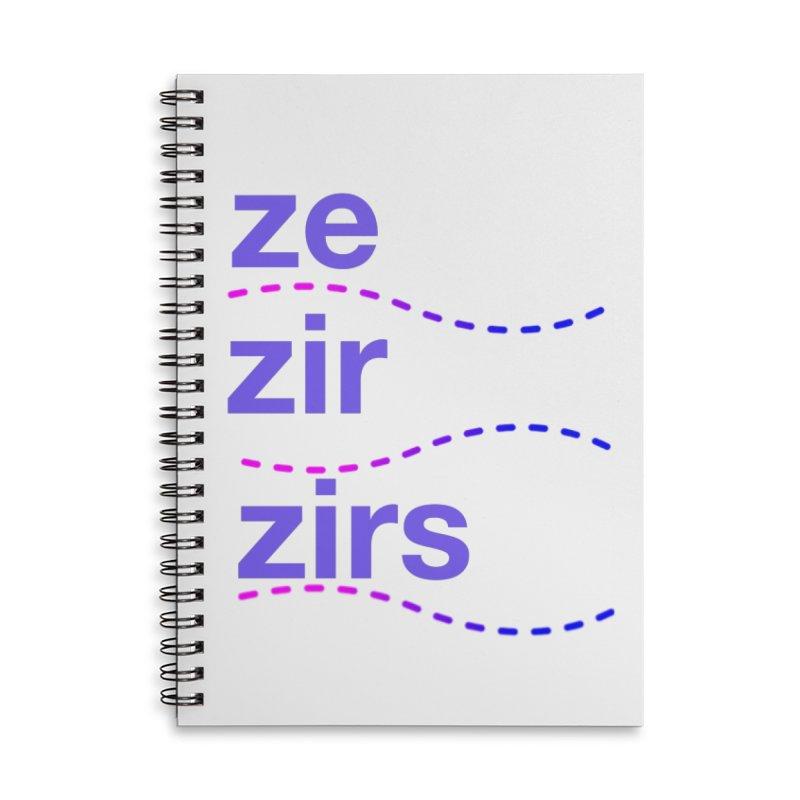 TCH ze zir swag Accessories Lined Spiral Notebook by Transchance Health's Artist Shop