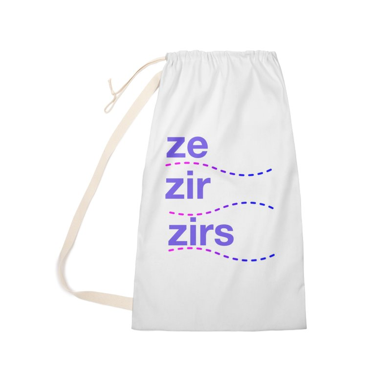 TCH ze zir swag Accessories Bag by Transchance Health's Artist Shop