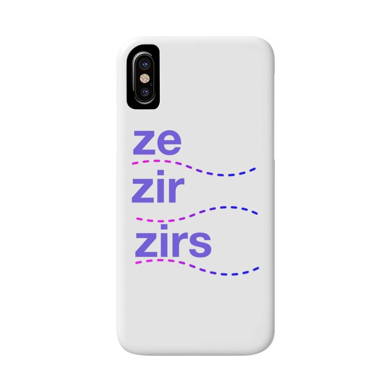 TCH ze zir swag Accessories Phone Case by Transchance Health's Artist Shop