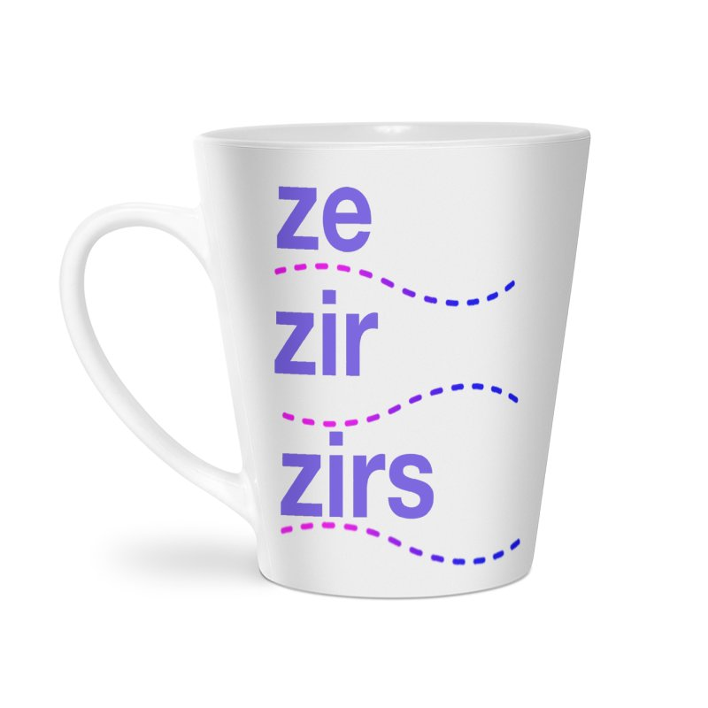 TCH ze zir swag Accessories Latte Mug by Transchance Health's Artist Shop