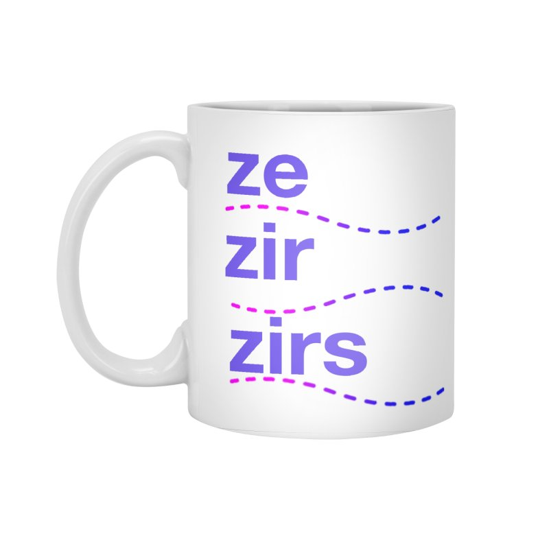 TCH ze zir swag Accessories Mug by Transchance Health's Artist Shop