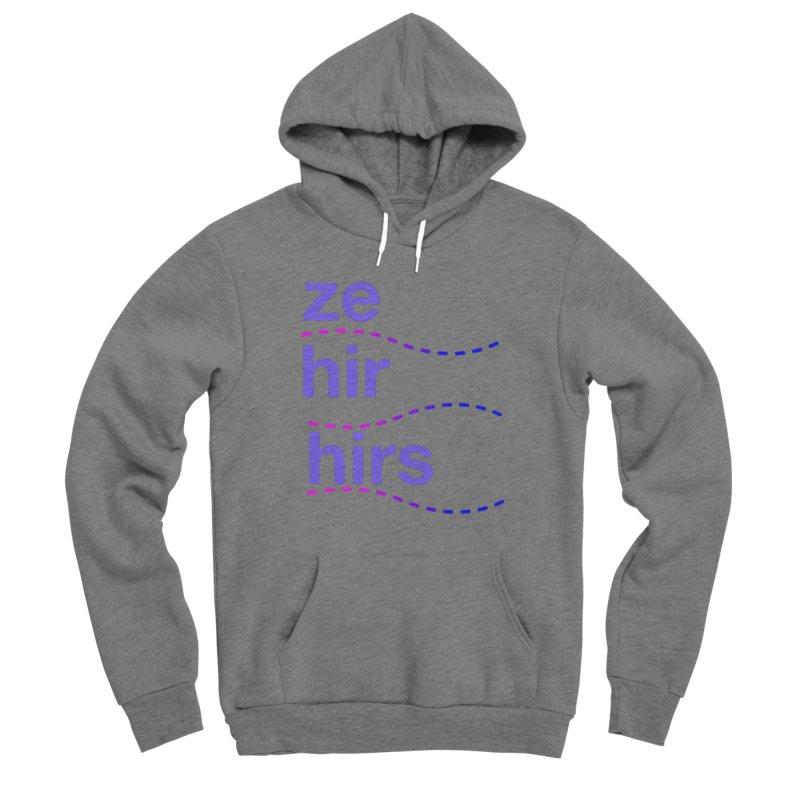 TCH ze hir swag Men's Pullover Hoody by Transchance Health's Artist Shop