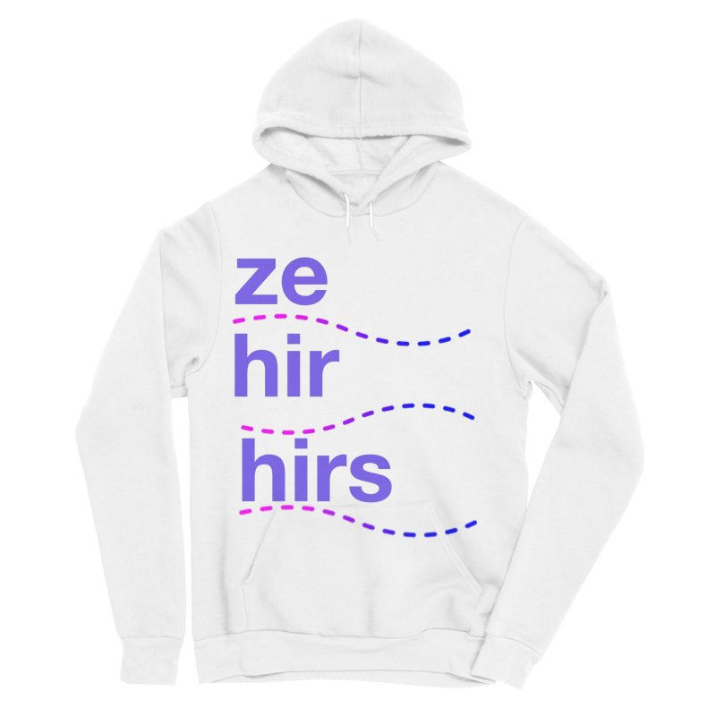 TCH ze hir swag Women's Sponge Fleece Pullover Hoody by transchancehealth's Artist Shop