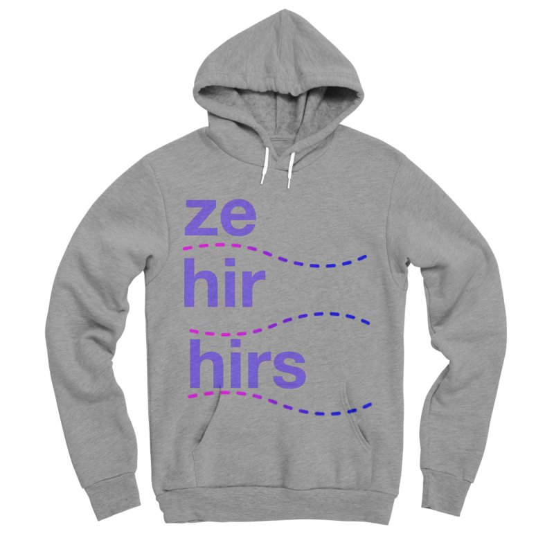 TCH ze hir swag Men's Sponge Fleece Pullover Hoody by Transchance Health's Artist Shop