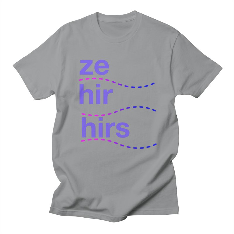 TCH ze hir swag Women's Regular Unisex T-Shirt by Transchance Health's Artist Shop