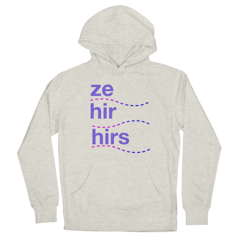 TCH ze hir swag Men's French Terry Pullover Hoody by Transchance Health's Artist Shop