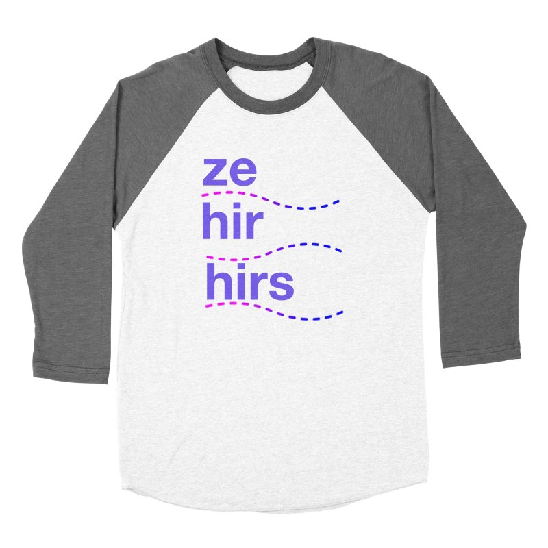 TCH ze hir swag Women's Longsleeve T-Shirt by Transchance Health's Artist Shop