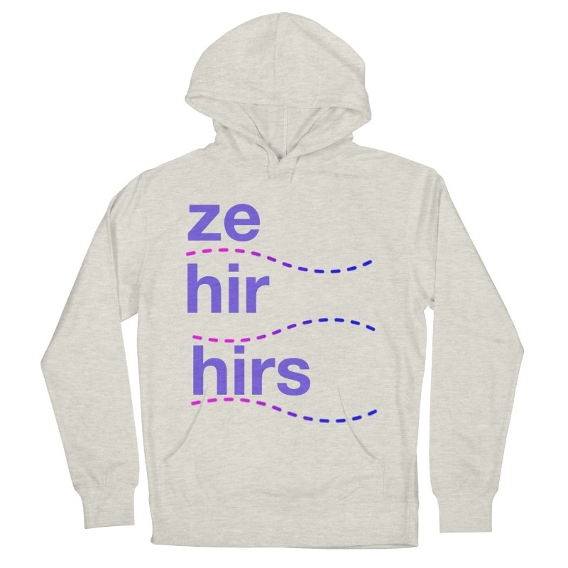 TCH ze hir swag Women's French Terry Pullover Hoody by transchancehealth's Artist Shop