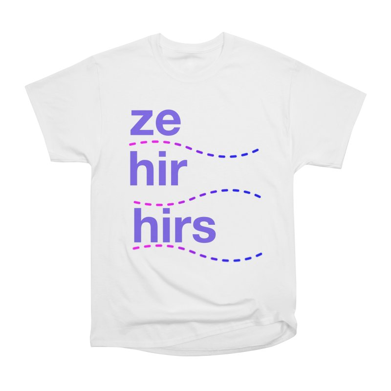 TCH ze hir swag Men's Heavyweight T-Shirt by Transchance Health's Artist Shop