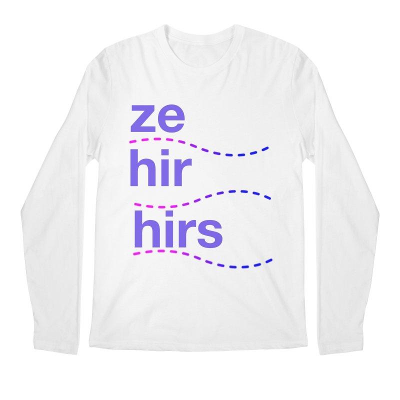 TCH ze hir swag Men's Regular Longsleeve T-Shirt by Transchance Health's Artist Shop