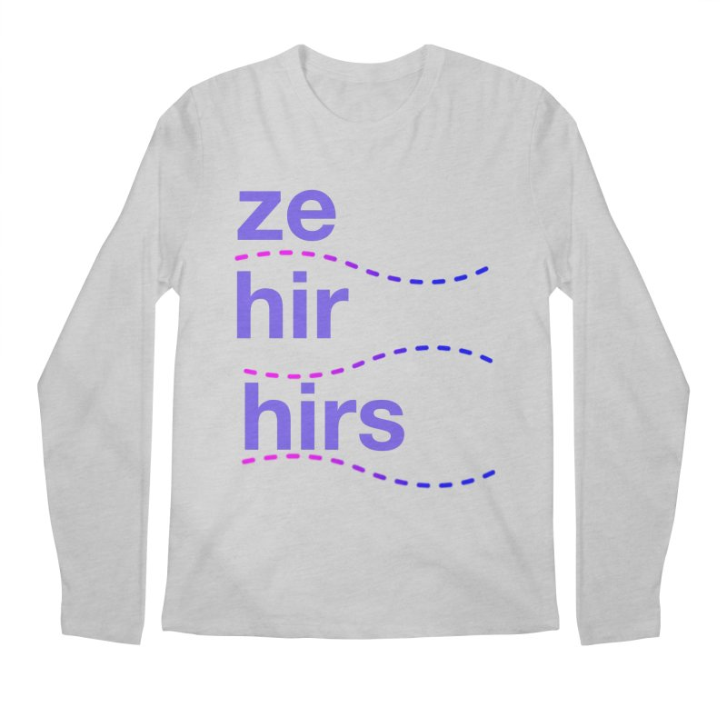 TCH ze hir swag Men's Regular Longsleeve T-Shirt by transchancehealth's Artist Shop