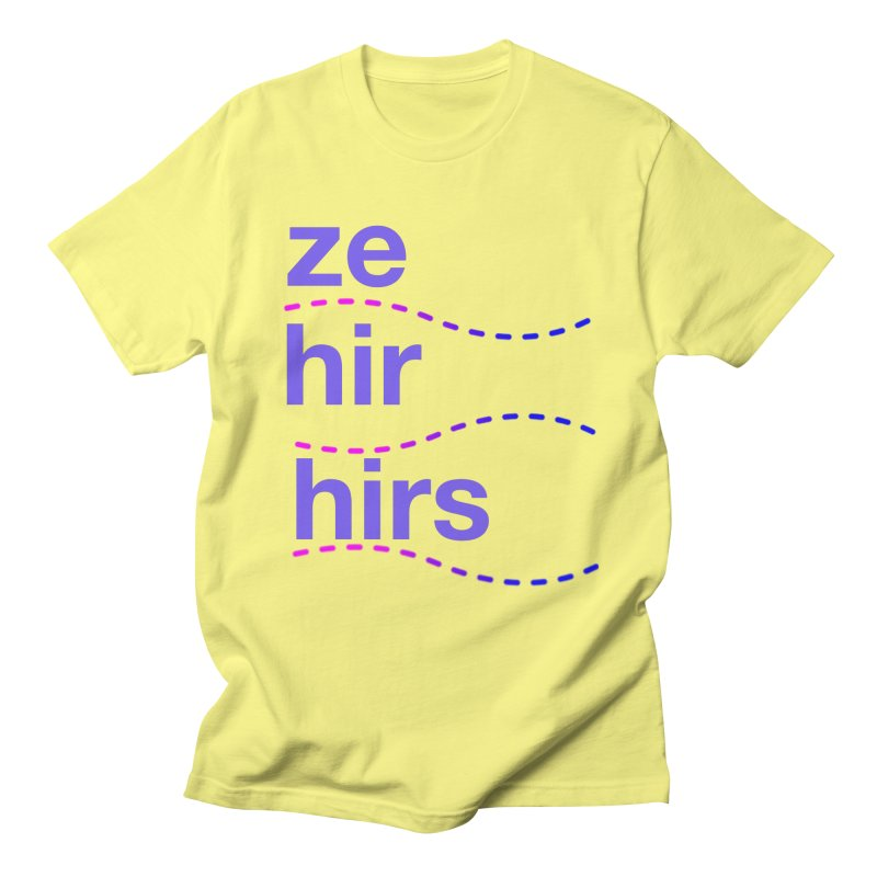 TCH ze hir swag Men's Regular T-Shirt by Transchance Health's Artist Shop