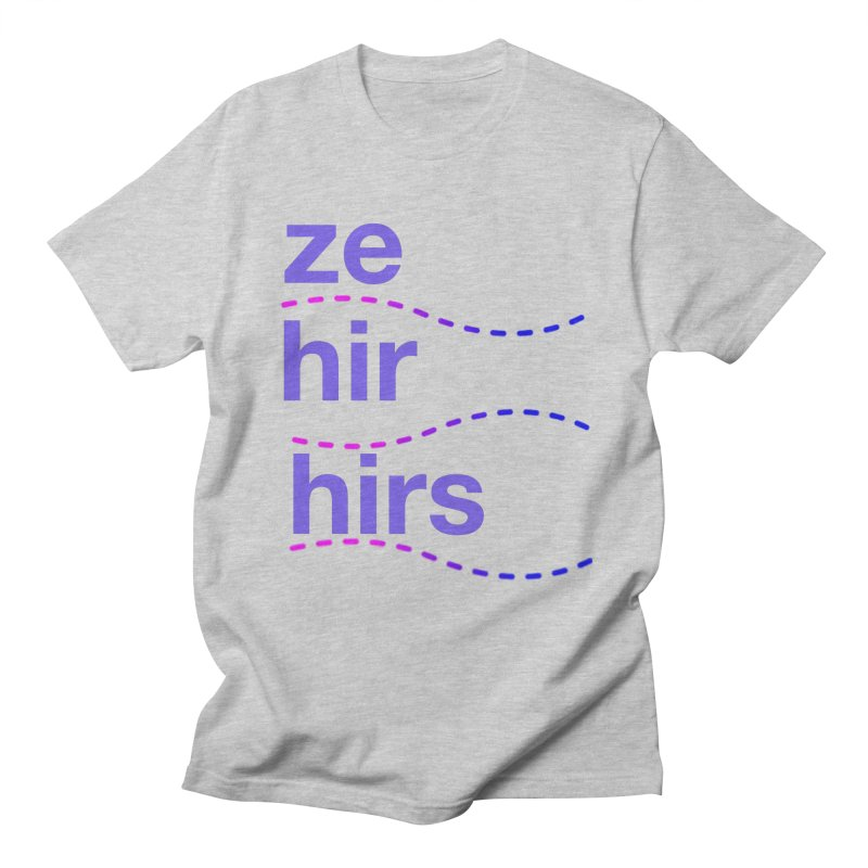 TCH ze hir swag Men's Regular T-Shirt by Transchance Health's Artist Shop