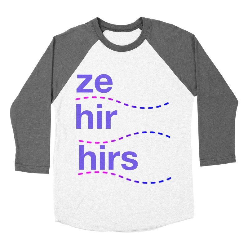 TCH ze hir swag Women's Baseball Triblend Longsleeve T-Shirt by Transchance Health's Artist Shop