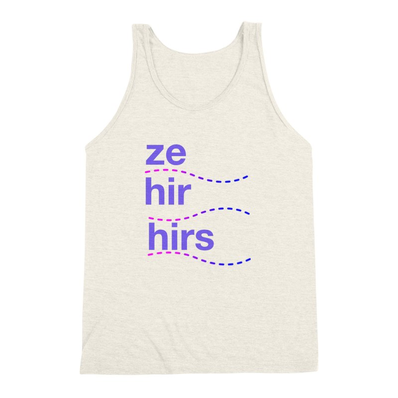 TCH ze hir swag Men's Triblend Tank by transchancehealth's Artist Shop