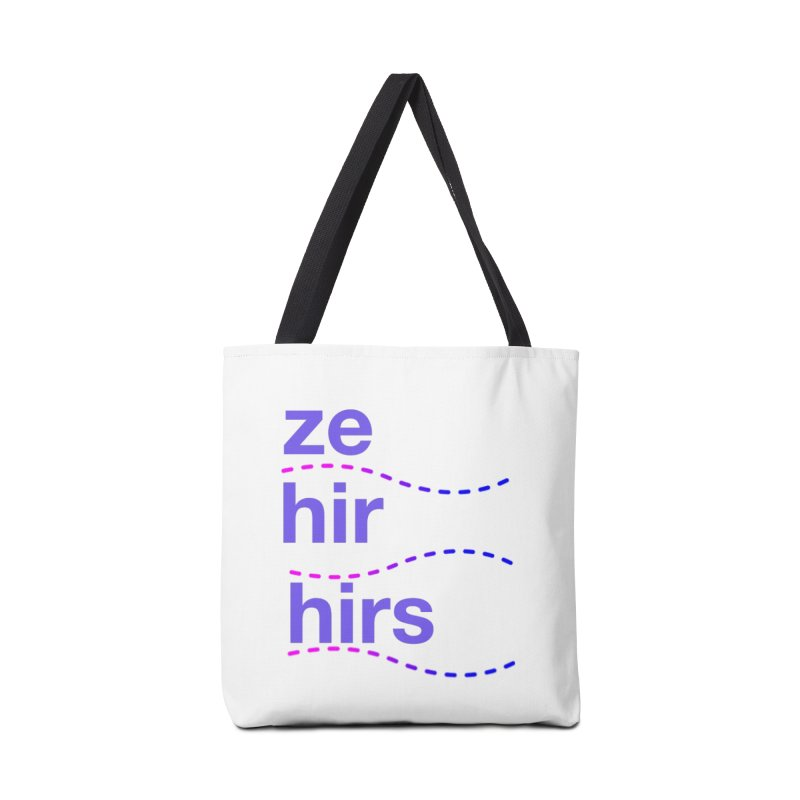 TCH ze hir swag Accessories Tote Bag Bag by Transchance Health's Artist Shop