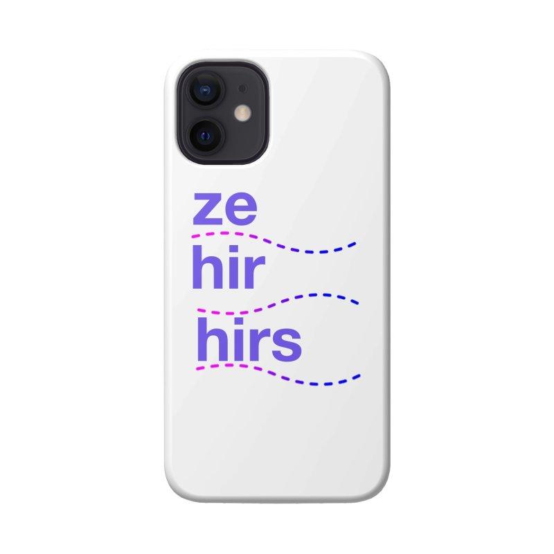 TCH ze hir swag Accessories Phone Case by Transchance Health's Artist Shop