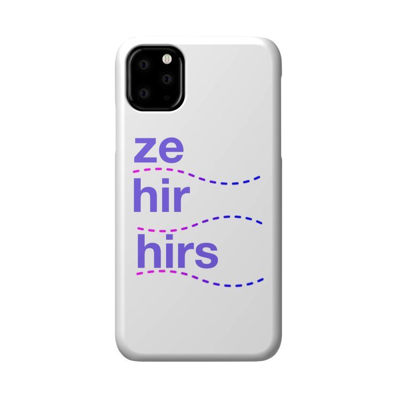 TCH ze hir swag Accessories Phone Case by Transchance Health's Artist Shop