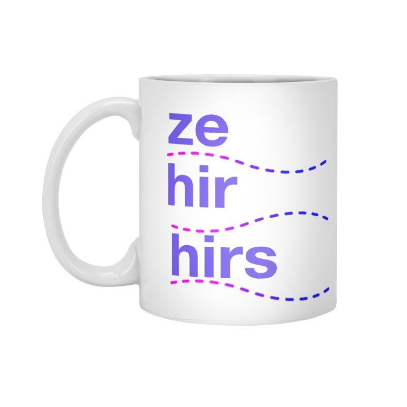 TCH ze hir swag Accessories Mug by Transchance Health's Artist Shop