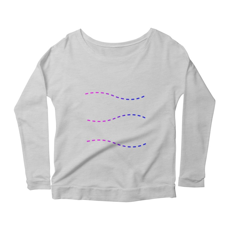 TCH fill-in-your-own swag Women's Scoop Neck Longsleeve T-Shirt by transchancehealth's Artist Shop