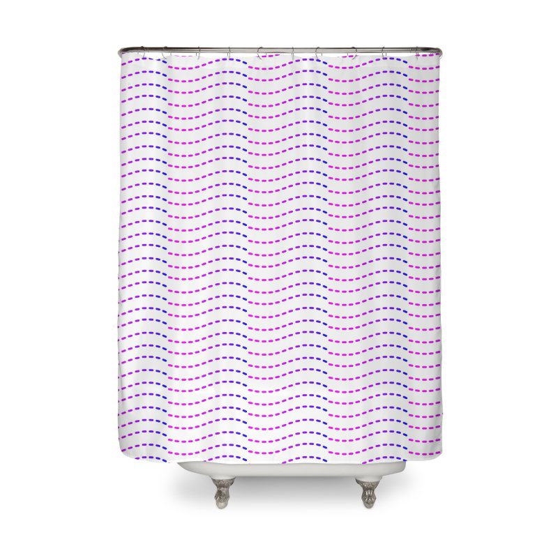 TCH All Over Home Shower Curtain by Transchance Health's Artist Shop