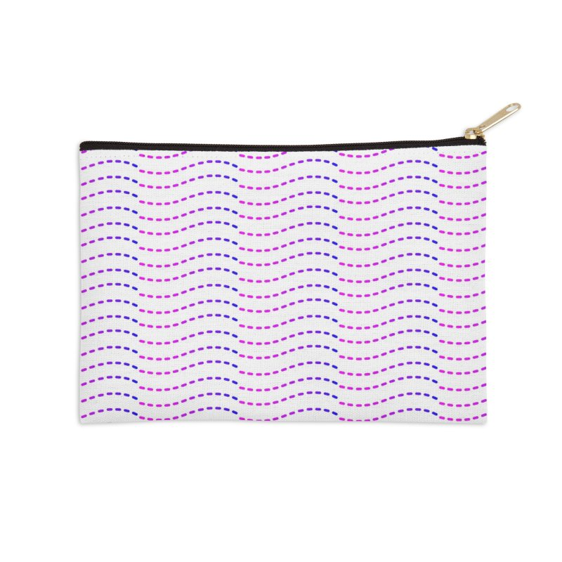 TCH All Over Accessories Zip Pouch by Transchance Health's Artist Shop