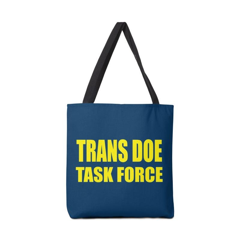 TDTF uniform Accessories Tote Bag Bag by Trans Doe Task Force