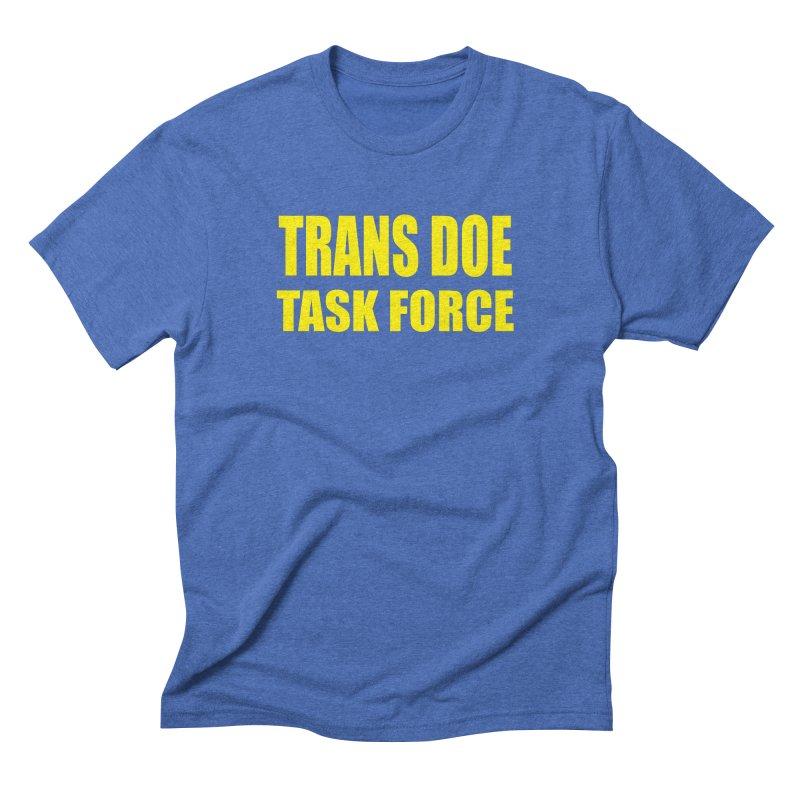 TDTF uniform Men's T-Shirt by Trans Doe Task Force