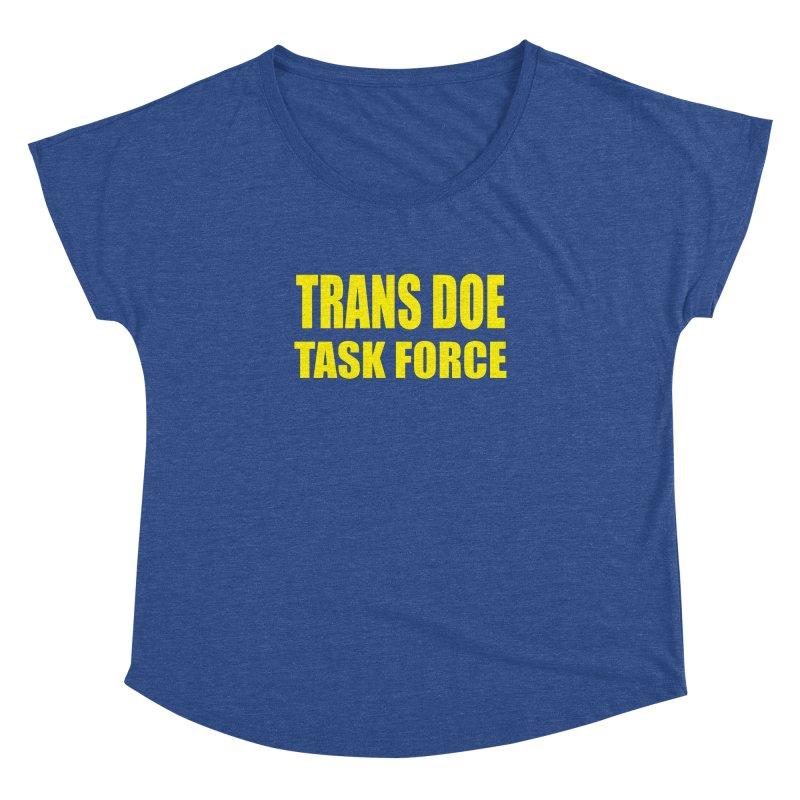 TDTF uniform Women's Dolman Scoop Neck by Trans Doe Task Force