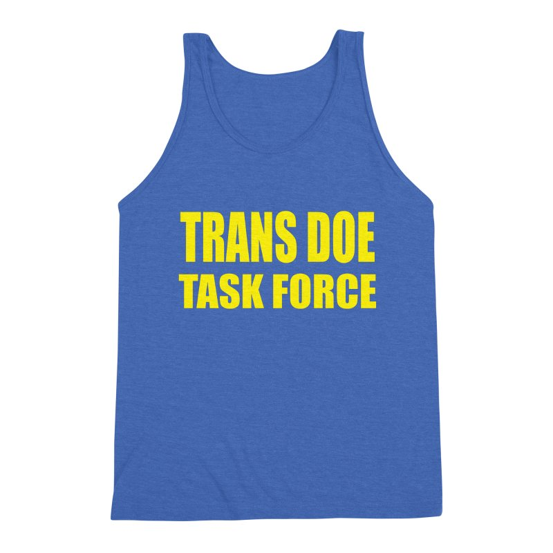 TDTF uniform Men's Triblend Tank by Trans Doe Task Force