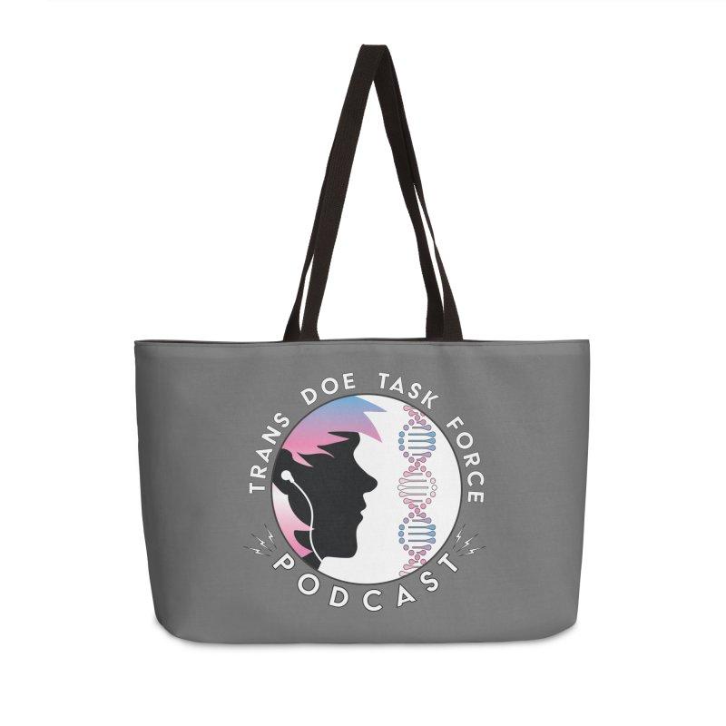 TDTF Podcast Accessories Weekender Bag Bag by Trans Doe Task Force
