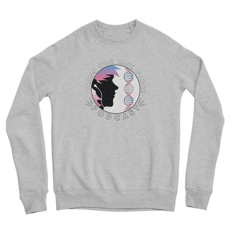 TDTF Podcast Men's Sponge Fleece Sweatshirt by Trans Doe Task Force