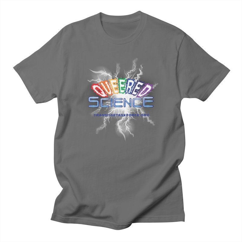 Queered Science Men's T-Shirt by Trans Doe Task Force