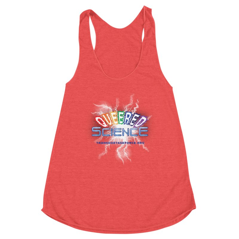 Queered Science Women's Tank by Trans Doe Task Force