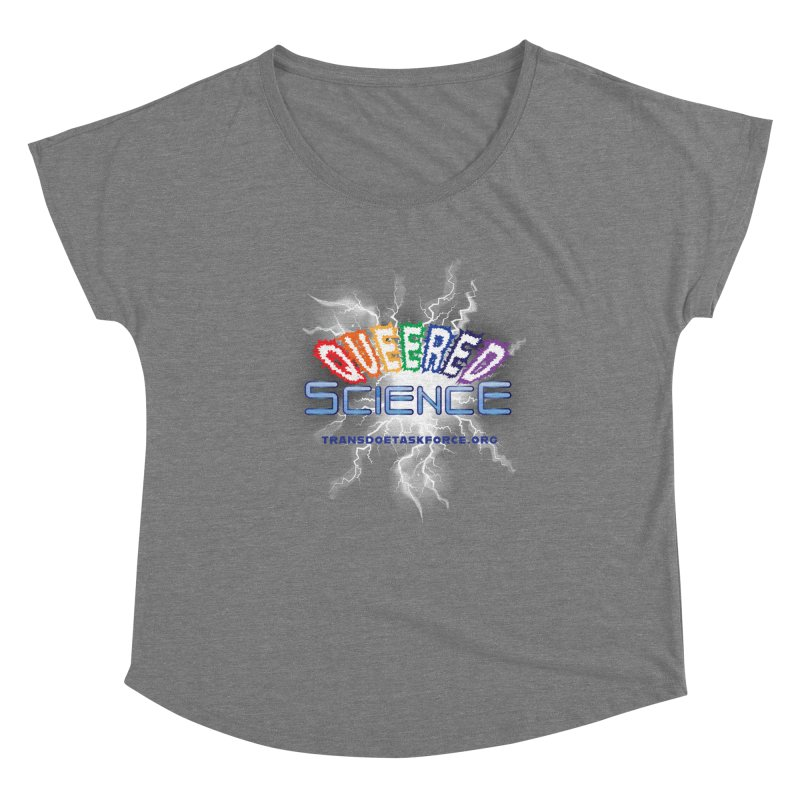 Queered Science Women's Scoop Neck by Trans Doe Task Force