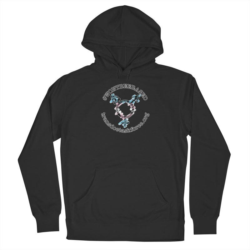 Won't Be Erased Women's Pullover Hoody by Trans Doe Task Force