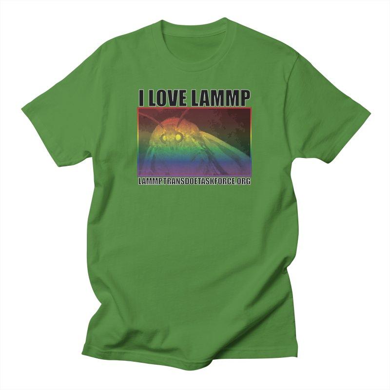 I love LAMMP Men's T-Shirt by Trans Doe Task Force