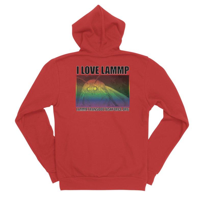 I love LAMMP Women's Zip-Up Hoody by Trans Doe Task Force
