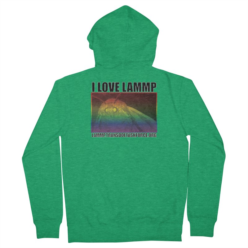 I love LAMMP Women's Zip-Up Hoody by Trans Doe Task Force