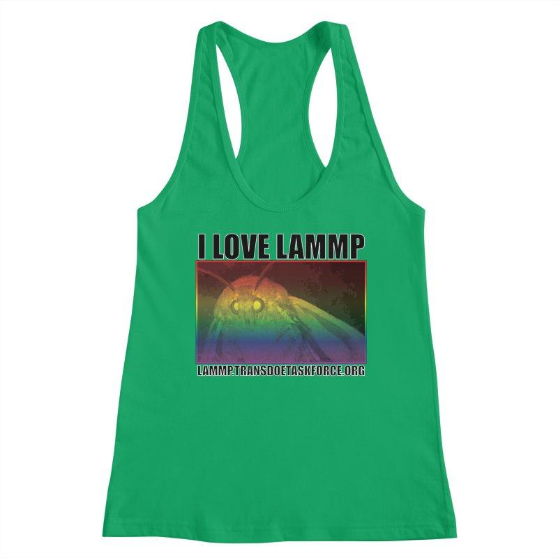 I love LAMMP Women's Tank by Trans Doe Task Force