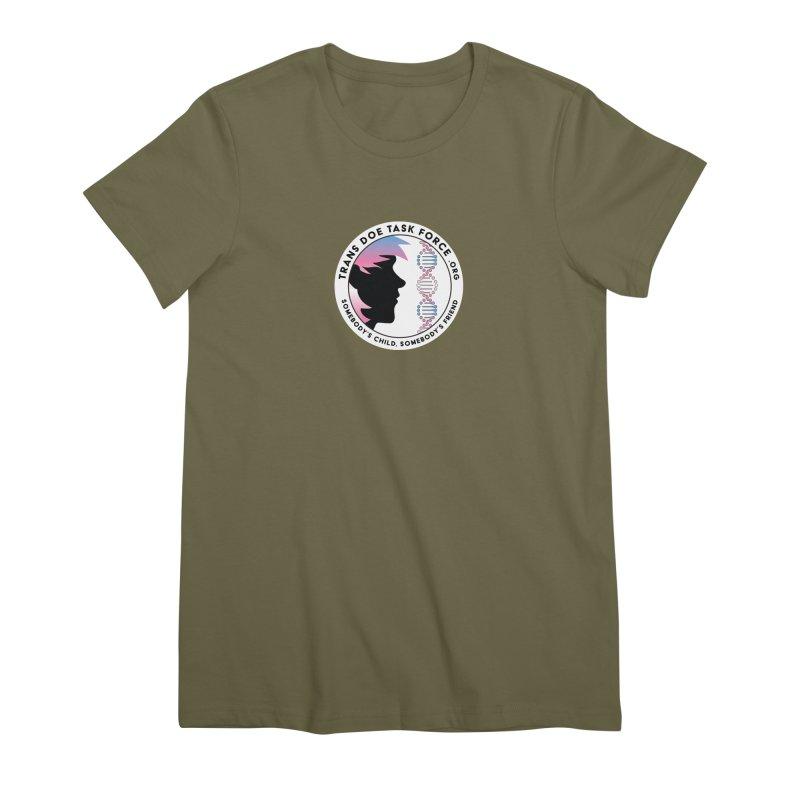 Trans Doe Task Force emblem Women's Premium T-Shirt by Trans Doe Task Force