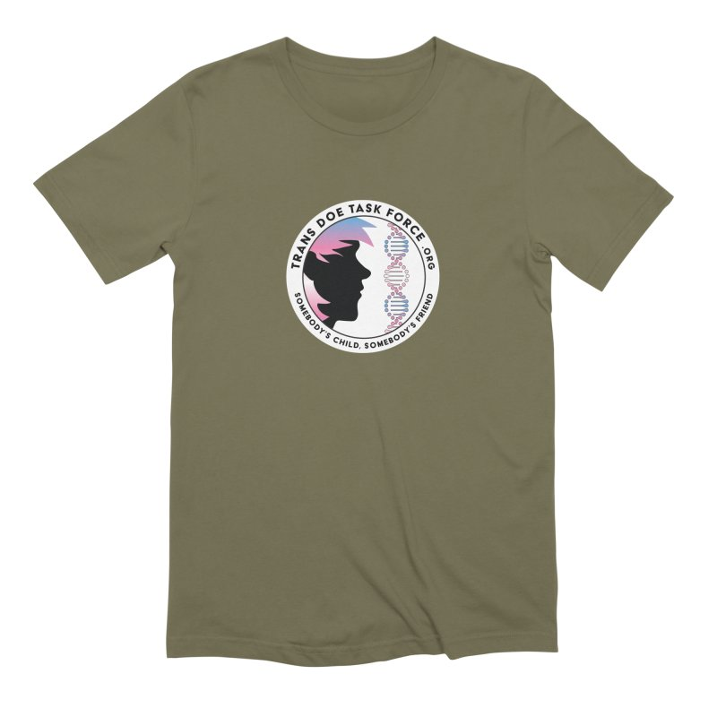 Trans Doe Task Force emblem Men's T-Shirt by Trans Doe Task Force