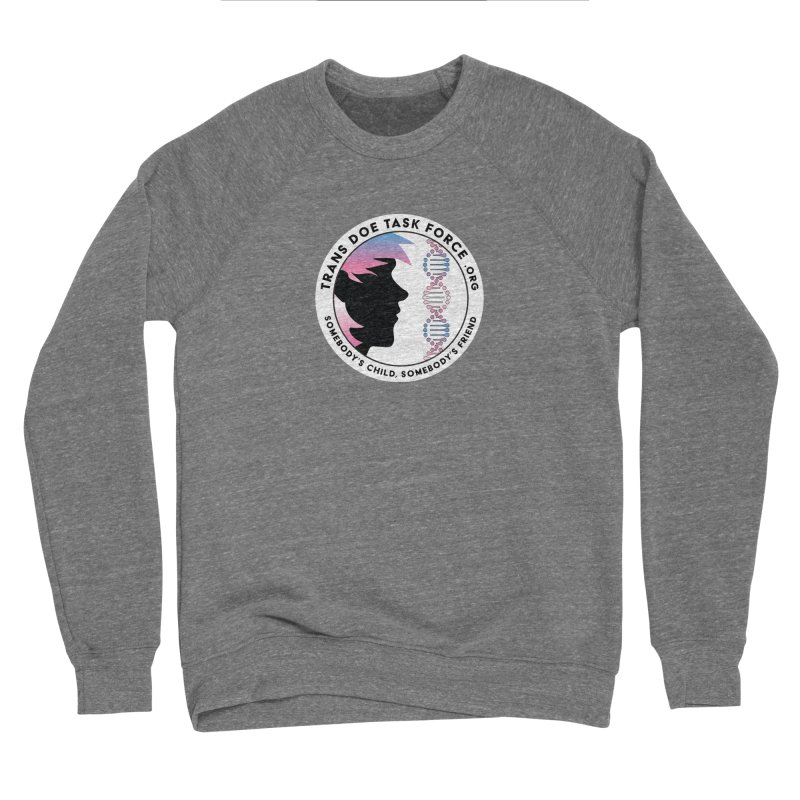 Trans Doe Task Force emblem Women's Sweatshirt by Trans Doe Task Force