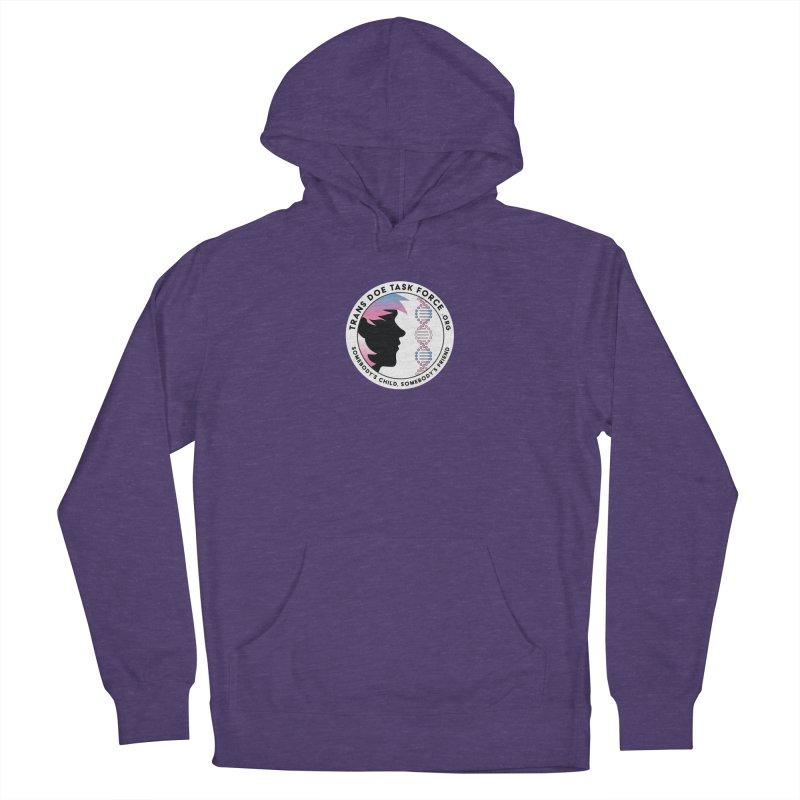 Trans Doe Task Force emblem Women's Pullover Hoody by Trans Doe Task Force