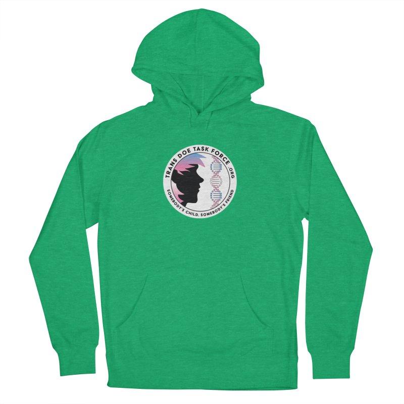Trans Doe Task Force emblem Men's Pullover Hoody by Trans Doe Task Force