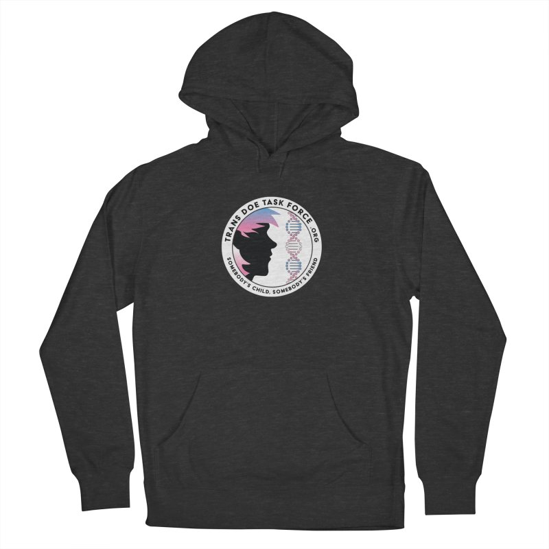 Trans Doe Task Force emblem Men's French Terry Pullover Hoody by Trans Doe Task Force