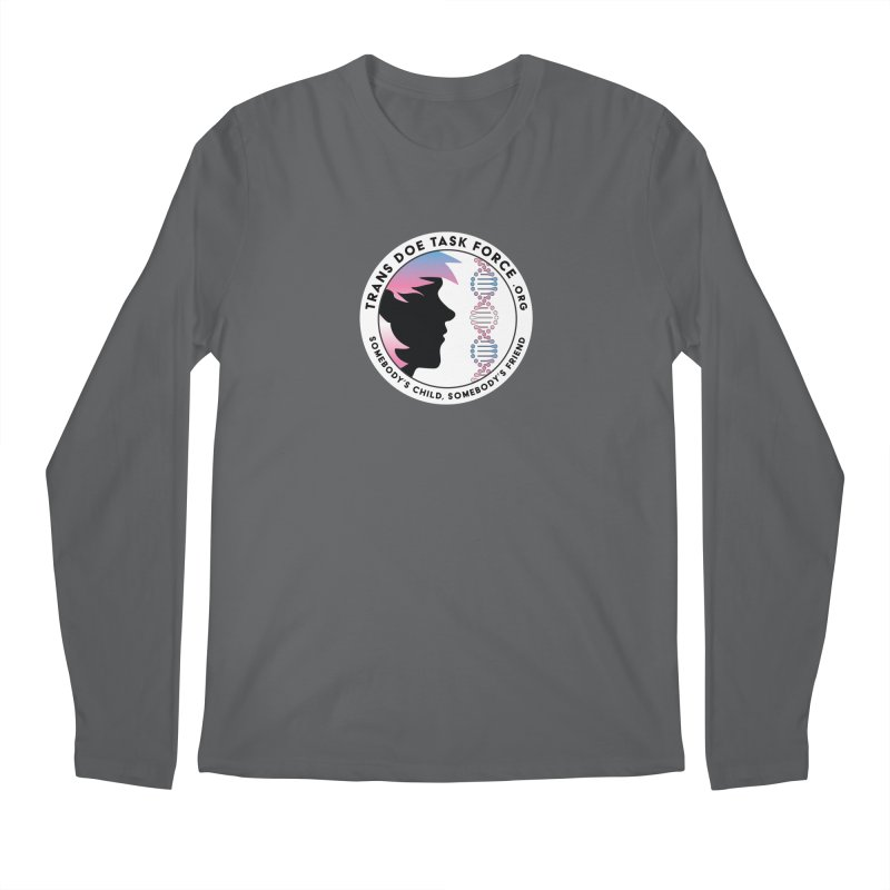 Trans Doe Task Force emblem Men's Longsleeve T-Shirt by Trans Doe Task Force