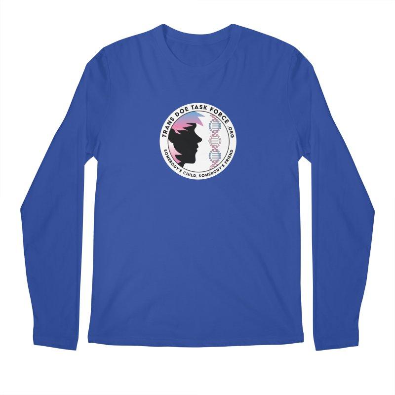 Trans Doe Task Force emblem Men's Regular Longsleeve T-Shirt by Trans Doe Task Force