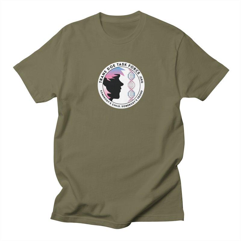Trans Doe Task Force emblem Men's T-Shirt by Trans Doe Task Force